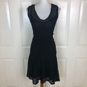 Tracy Reese Black Knee Length Dress Size S